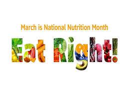 National Nutrition Month Bellevue WA